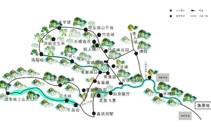 邢台大峡谷,牡丹园三日游——邢台旅游景点-旅游