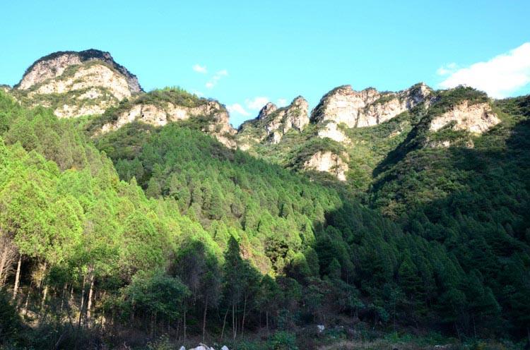 保定易县凤凰台村,千佛山森林公园二日游