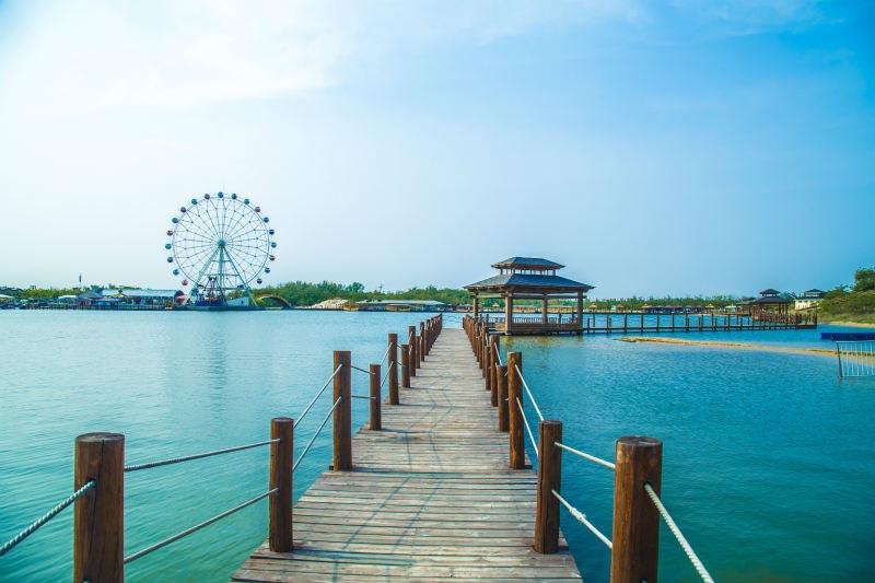 秦皇岛集发生态观光园,碧螺塔,渔岛三日游