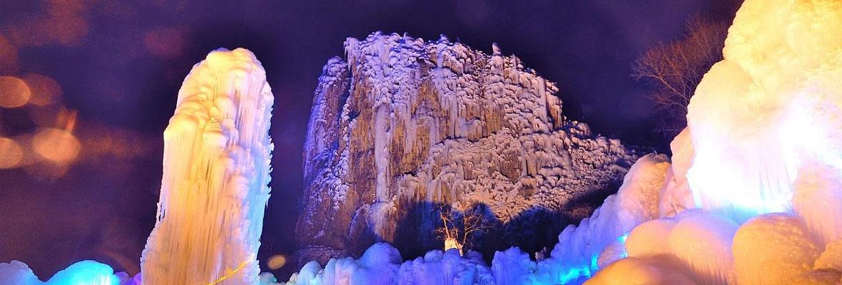 【回顾】昼观冰瀑,夜赏冰灯,美丽的沕沕水,我们如约而至啦!