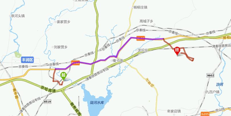 自驾: 从石家庄出发到唐山麻龙湾清明上河园,沿路线:京石高速——京